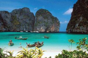 泰国政府:旅游胜地玛雅湾关闭持续至2021年