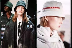 袁姗姗迪丽热巴都爱的瘦脸神器 只是这款渔夫帽