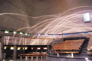 世界超美星空教堂完工,柯布西耶的心愿终于完成了