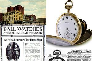 一百年前,他们这样卖表