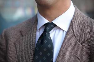 会系领带是成为绅士的第一步