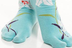 分趾鞋算什么,分趾袜才是真的的日本原味