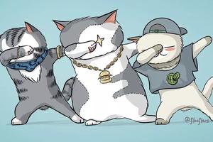 90后姑娘把各大品牌画成猫猫 简直萌死人不偿命