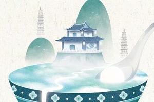 这才叫中国风 插画师画19座中国城市走红