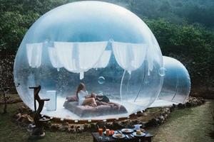 泡泡帐篷、恬静树屋……全球10个最独特的民宿!