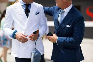 绅装文化第一课 西装搭配元素的尺度拿捏