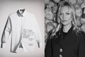 超模Kate Moss艺术家村上隆等人为老佛爷设计纪念衬衫