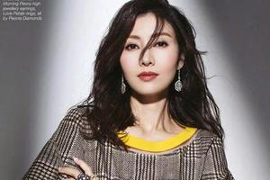 最美港姐李嘉欣惊艳回归 49岁也不能向时光低头