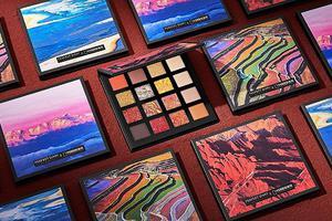 国货品牌与《中国国家地理》推出联名彩妆 眼影盘美不胜收