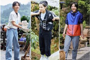 张子枫穿黑西装俨然大佬出街 18岁妹妹越发成熟