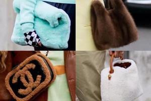 秋冬怎么能少了毛毛手袋