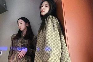 宋妍霏为孟美岐庆生 穿同色系搭配秀姐妹情