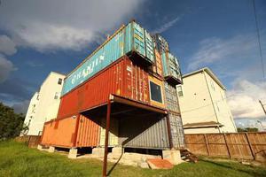 他用11个集装箱造230平方米豪宅 羡煞一众网友