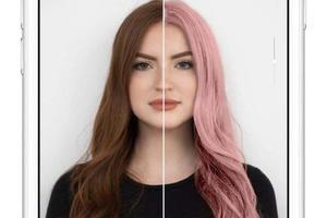 欧莱雅Garnier使用AR技术实现染发试色