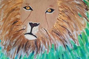 13岁天才小萝莉走红 靠画画捐48万拯救濒危动物