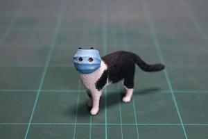 """""""口罩猫""""火到了日本 日推大佬把它做成手办"""