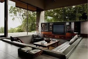 现在客厅流行这样设计 快来给新居安排上