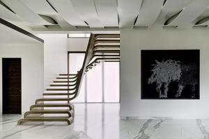 原来楼梯还可以这样设计 空间艺术的点睛之笔