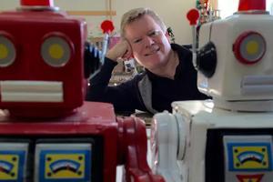 国外大叔画笔下的美食和机器人 治愈全世界