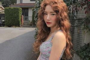 超火的韩系卷发娃娃烫来了 好打理还巨显瘦