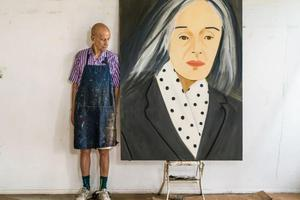 """他被称为艺术界""""宠妻狂魔"""" 93岁依然在创作"""