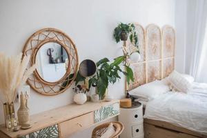 如何把42�O的小公寓 住成波西米亚植物园?