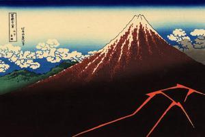 日本不可替代的文化 是关于富士山的美学设计