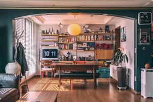 """把家装成""""咖啡馆"""" 这个摄影师的家太酷了"""