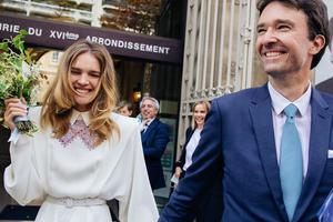 LV老板大儿子与超模Natalia Vodianova完婚
