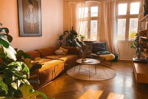 温暖系德国公寓 阳光洒进来的样子太美好了