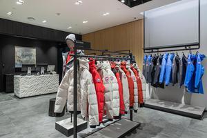 Canada Goose加拿大鹅揭幕北京SKP男装及女装精品店