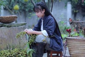 李子柒的后院 藏着14亿中国人向往的生活
