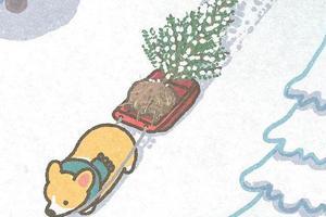 日本插画师笔下的小短腿柯基 太太太可爱了