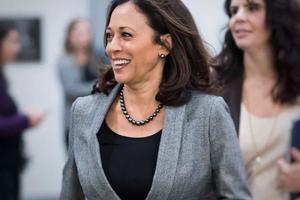 哈里斯 | 穿帆布鞋、戴珍珠 她还是美国史上首位女副总统