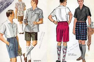 要时髦跟戴妃学 一起穿百慕大短裤吧