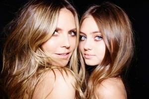 Heidi Klum 宣布不再做模特了 由自己的女儿接棒!