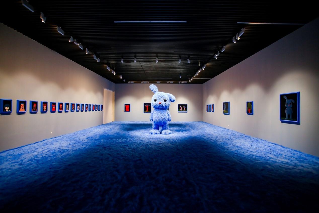 """上海宝龙美术馆,张占占个展""""兔子!兔子!""""展览"""