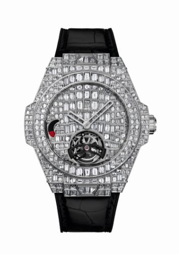 BIG BANG 珠宝巨鳄陀飞轮腕表