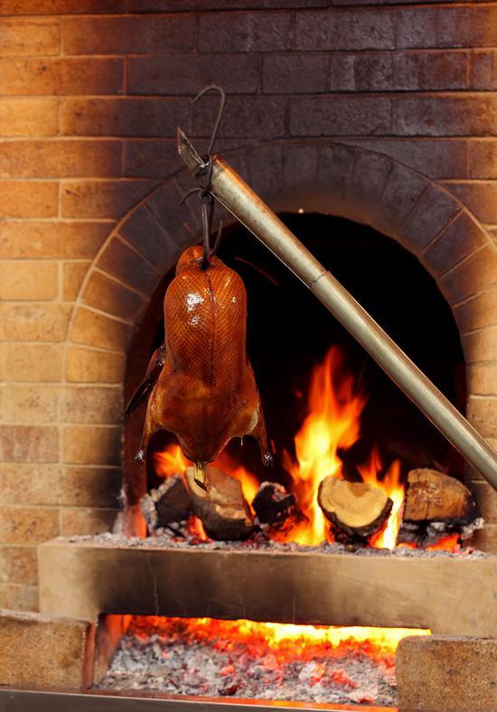 海天阁中餐厅 京鸭缘果木烤鸭
