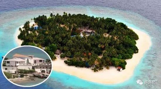 有粉丝还爆料说拍到了他在岛上建的豪宅