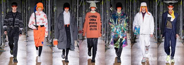 李宁2020秋冬致敬品牌30周年系列 未来复古主义与运动正装演绎