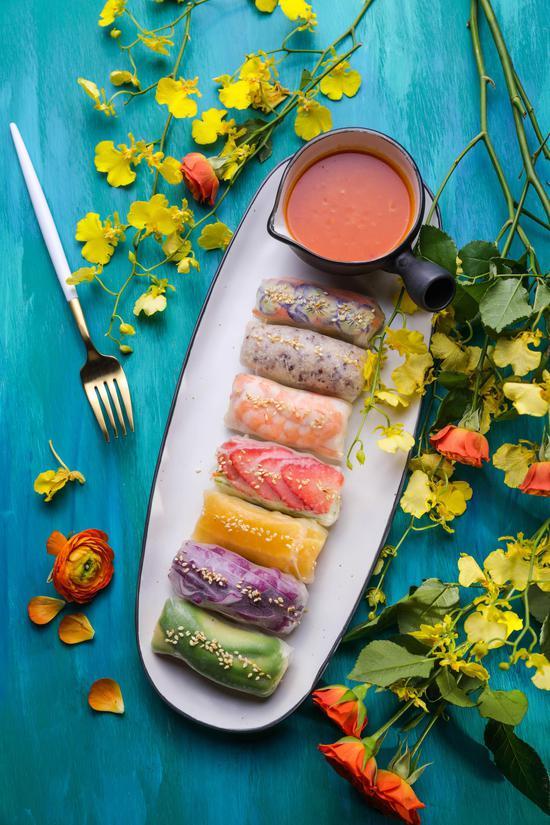 花厨彩虹卷