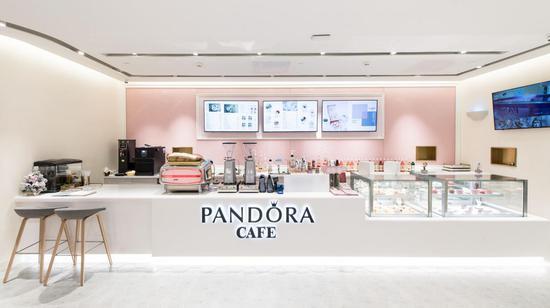 Pandora Café 店内