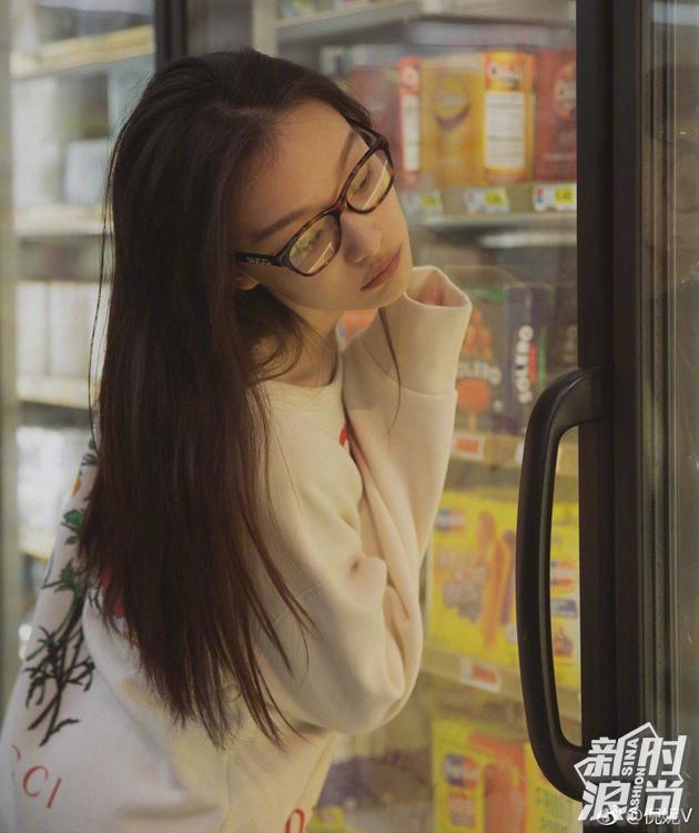倪妮-眼镜装饰