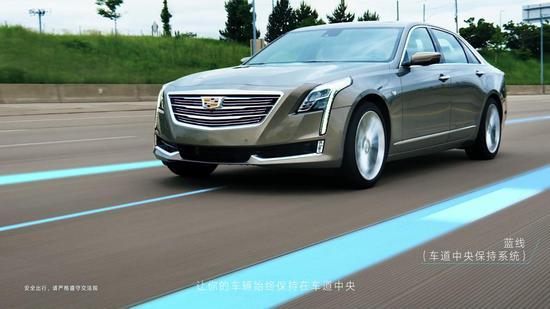 """""""蓝线""""――虚拟车辆控制路径"""