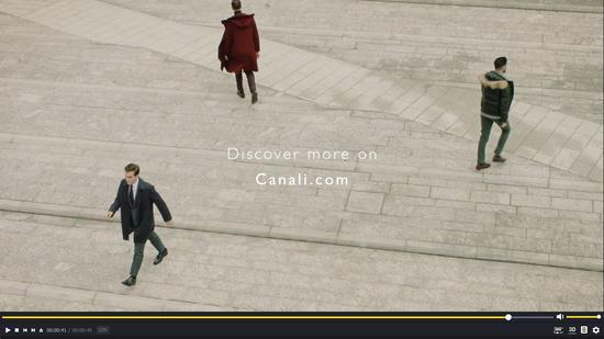 Canali呈献全新电影短片 演绎 Canali 绅士三重风格