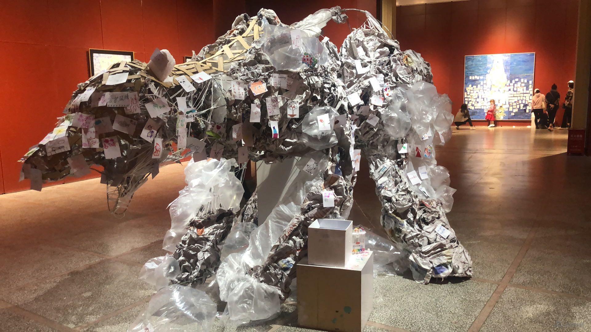 生命与共存北极系列-大众参与式装置艺术作品