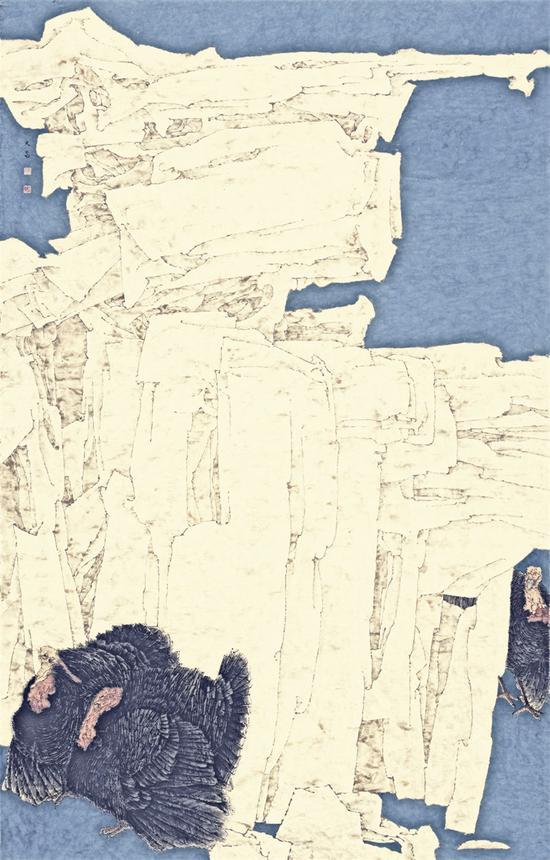 《阳光灿烂的日子》获逐梦·威海卫2017全国中国画作品展 入会资格