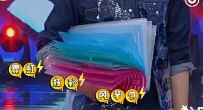 霓虹炫彩风琴包
