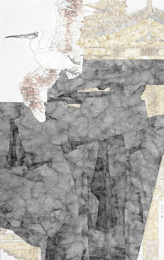 《城》入选丝绸之路 翰墨通渭第二届全国中国画 油画作品展